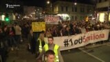 'Dnevnik slobodne Srbije' ispred RTS-a