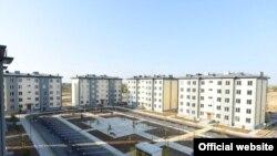 Новые дома для пострадавших в результате наводнения после прорыва дамбы на Сардобинском водохранилище