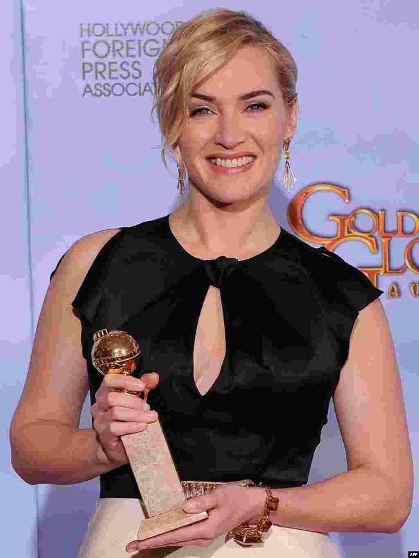 بهترین بازیگر زن: کیت وینسلت برای نقش آفرینی در «میلدرِد پیِرس»