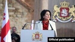 Церемония инаугурации Саломе Зурабишвили в Телави, 16 декабря 2018 года