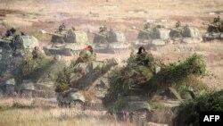 تمرینات مشترک نظامی روسیه در بلاروس