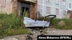 Заброшенный дом в Заозерске