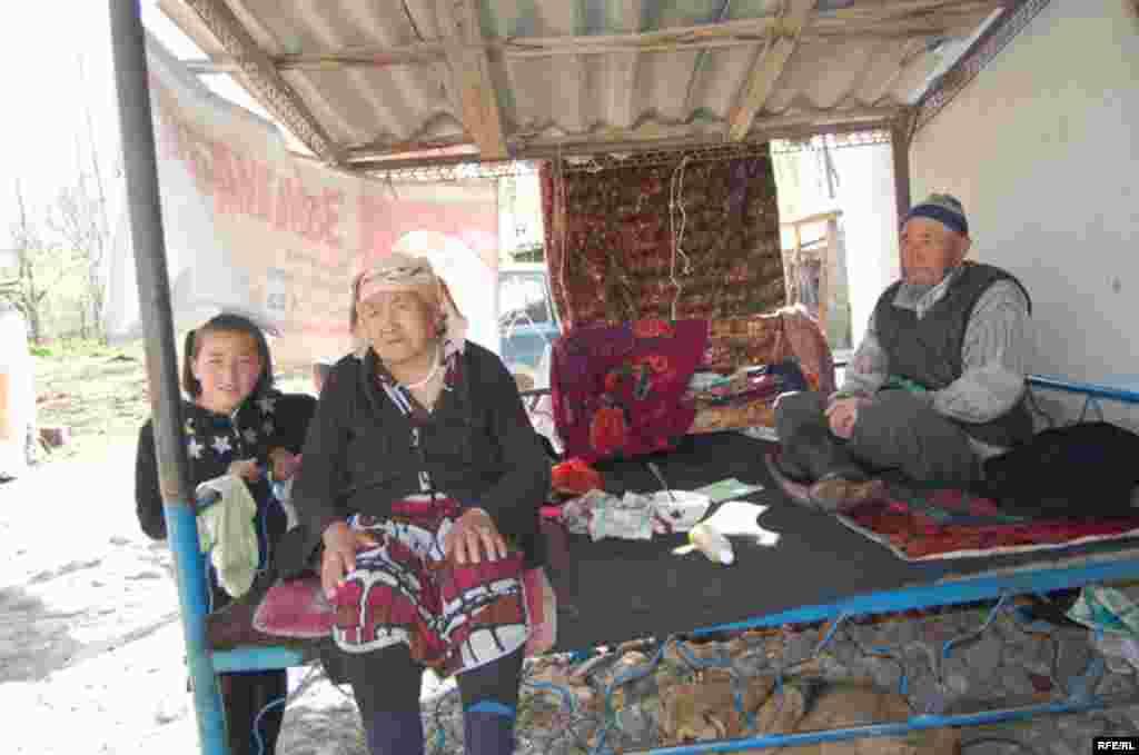 Кыргызстан. Ошская область. Село Папан. #9