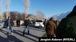 Киргизия, город Баткен, 11 января 2014 года