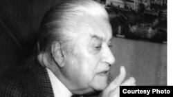 Sergiu Celibidache în 1991 (foto E. Dichiseanu)