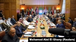 Араб лигасы елдері сыртқы істер министрлерінің жиыны (Көрнекі сурет).