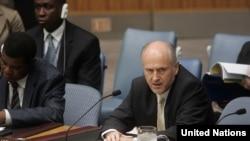 Valentin Inzko pred sastanak Vijeća sigurnosti UN, 28. maj 2009. - iz arhive