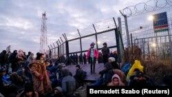 Migranti na srpsko-mađarskoj granici, 6. februar