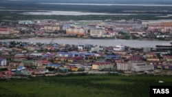A view of Naryan-Mar, the capital city of Russia's Nenets Autonomous Okrug, which just bucked a nationwide trend by officially voting against proposed constitutional changes.