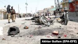 انفجار در شهرک چمن پاکستان