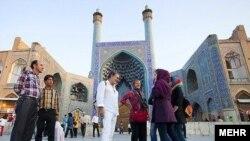 اصفهان یکی از مقاصد اصلی گردشگران در ایران