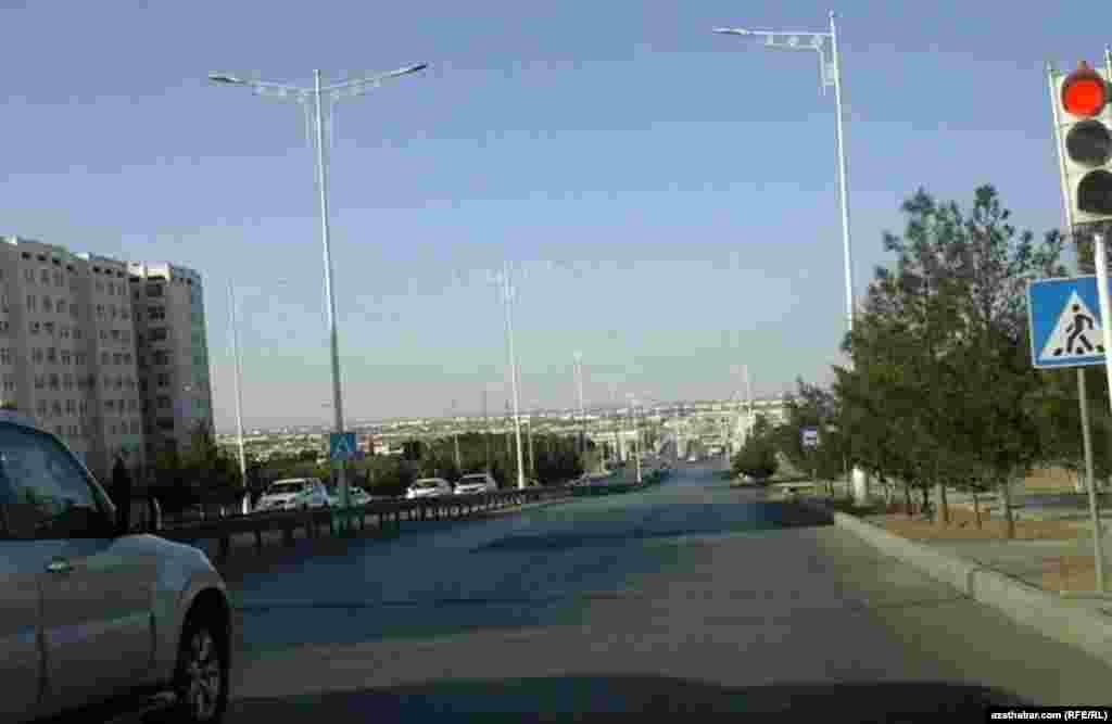 Улицы Ашхабада. Март 2021 г.