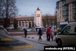 Чыгуначны вакзал у Горадні