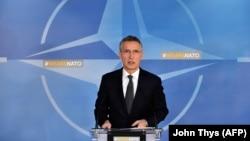 NATO-nyň baş sekretary Jens Stoltenberg, 14-nji fewral, 2018