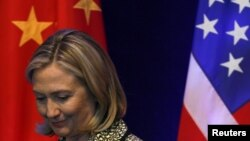 U.S. Secretary of State Hilary Clinton is due to begin strategic talks with China on May 3. (file photo)