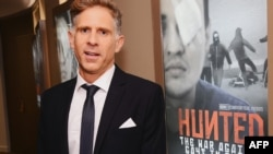 "Director Ben Steele attends the New York premiere of ""Hunted."""