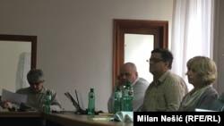 Sa press konferencije istraživača Birodija u Beogradu