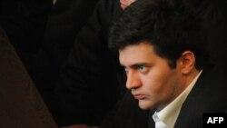 Бачо Ахалая в суде Тбилиси, 20 февраля 2013 года