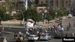 Pamje nga qyteti-port Karaçi në Pakistan
