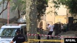 Мужчина погиб в результате обвала земли во внутреннем дворе университета
