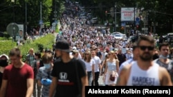 Xabarovskda yürüş