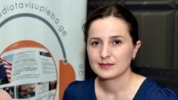 """გამომძილებელ ჟურნალისტთა გაერთიანება """"აიფაქტის"""" ჟურნალისტი ნინო ბაქრაძე"""