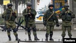 Російські військові у Криму, 7 березня 2014 року