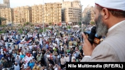 سيد العربي في تظاهرة الجمعة بميدان التحرير