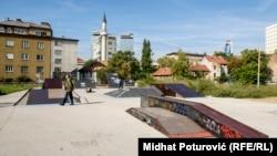 U parku Hastahana trebalo je da bude izgrađen Muzej opsade Sarajeva, oktobar 2017.