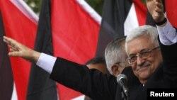 Глава Палестинской автономии Махмуд Аббас