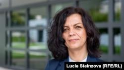 Czech Republic -- RFE/RL Balkan Service Director Arbana Vidishiqi. Prague, September 2, 2017