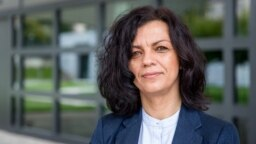 RFE/RL Balkan Service Director Arbana Vidishiqi.