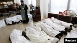 Тіла вбитих активістів в готелі «Україна», 20 лютого 2014 року