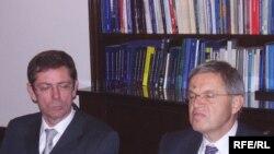 Ivan Šimonović i Ernst Hirsch Ballin, Fotografije: Enis Zebić