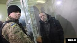 Геннадій Корбан під час судового засідання у Чернігові, 2 листопада 2015 року