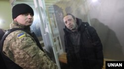 Геннадій Корбан під час засідання Новозаводського районного суду Чернігова, 2 листопада 2015 року
