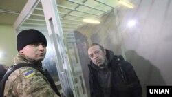 Лідер партії «Укроп» Геннадій Корбан під час засідання суду, архівне фото