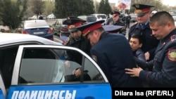 задержания в Шымкенте. 22 марта 2019 года.