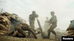 Ամերիկացի զինծառայողները Աֆղանստանում զորավարժությունների ժամանակ, դեկտեմբեր, 2014թ․