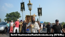 Хресна хода, Бориспіль, 25 липня 2016 року