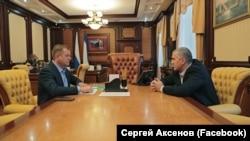 Олег Зубков и Сергей Аксенов