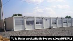 Модульне містечко переселенців у Дніпропетровську