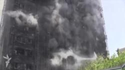 Трагедия в Баку. Пожар в многоэтажке