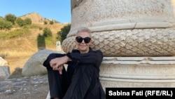 Moldova - Blog Sab.2021 - Portret Sabina la Sardis/Sardes, Turcia 14 iulie 2021