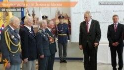 Чехи пікетували відліт Земана до Москви