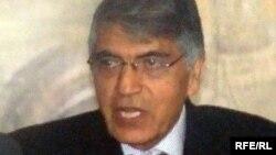 محمد قاسم هاشم زی رئیس کمیسیون نظارت بر تطبیق قانون اساسی افغانستان