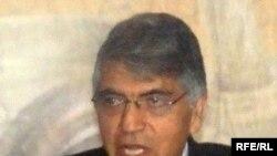 Afghan Deputy Minister of Justice Mohammad Qasim Hashimzai