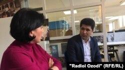 Беседа корреспондента Радио Озоди с Шарофиддином Гадоевым, Амстердам, 7 марта 2019 года