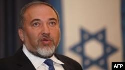 Израелскиот министер за надворешни работи, Авигдор Либерман.