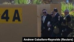 Američki sekretar Mike Pompeo u toku posjete Iraku, u Ambasadi SAD
